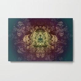 Psychedelic Art 2 Metal Print