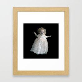 Zombie Doll. Framed Art Print