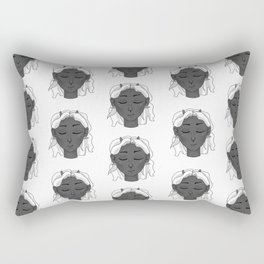 I am Capricorn Rectangular Pillow