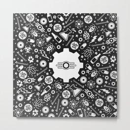Vault-Tec 2029 Metal Print