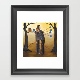 Forgive Thy Brother Framed Art Print