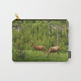 Wapiti In Yellowstone N P Carry-All Pouch