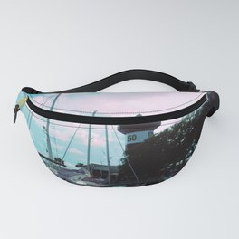 A Busy Harbour Fanny Pack