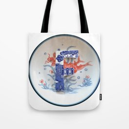 Love Letters to Dinnerware - F Tote Bag