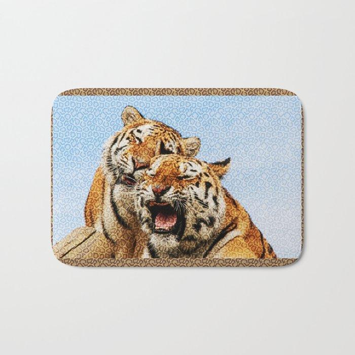 TIGERS - DOUBLE TROUBLE Bath Mat