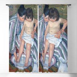 Mary Cassatt - The Child's Bath Blackout Curtain