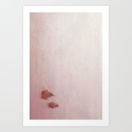 simple autum Art Print