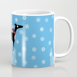 Snowy Hound Coffee Mug