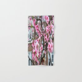 Spring in the city Hand & Bath Towel