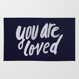 You Are Loved x Navy Rug