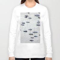rio de janeiro Long Sleeve T-shirts featuring Rio de Janeiro  by Rafael Baumer