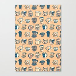 Coffee & Tea Canvas Print