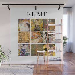 Klimt - Collage Wall Mural
