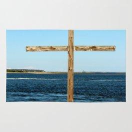 Seaside Cross Rug