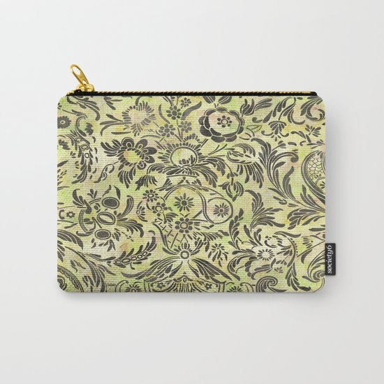 Damask Pattern 03 Carry-All Pouch