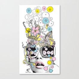psykéwoman Canvas Print