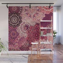 Terra Rose Mandalas Wall Mural