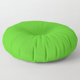 Classic Green Apple Simple Solid Color Floor Pillow