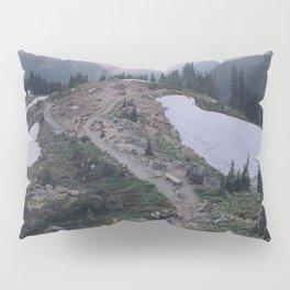 Mount Rainier National Park Pillow Sham