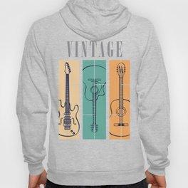 Guitar Vintage Hoody