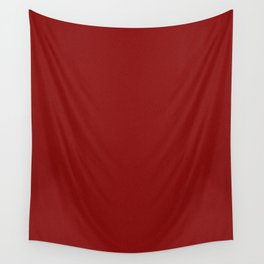 Dark Red Pixel Dust Wall Tapestry