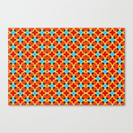Lady Bug Bugging Out Canvas Print