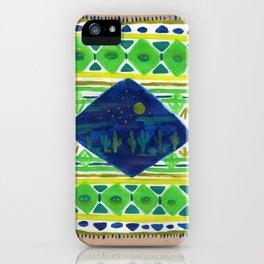 Patterned Desert Rug iPhone Case