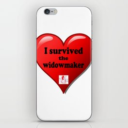 I Survived the Widowmaker iPhone Skin