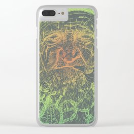"""Age"" - Jungle Clear iPhone Case"