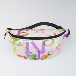 Alphabet in Color Fanny Pack