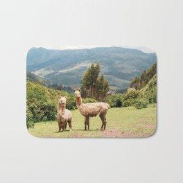 Llama Party Bath Mat