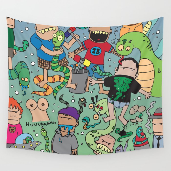 Snake My B#%tch UP! Wall Tapestry