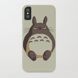 Grumpy T0toro iPhone Case