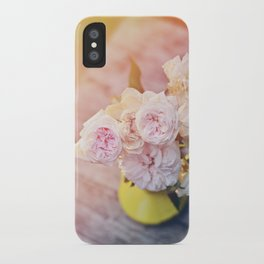 The Last Days of Spring - Old Roses II iPhone Case