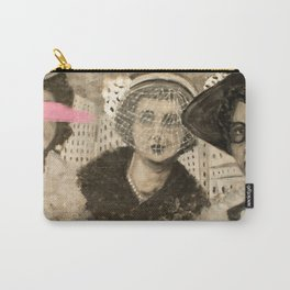 Vintage Ladies Carry-All Pouch