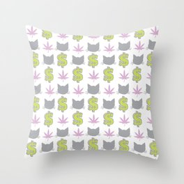 PMW Pattern Throw Pillow