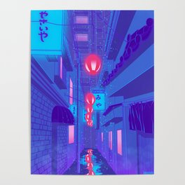 Shibuya Nights Poster