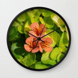 Three in colour...... Wall Clock