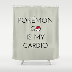 Cardio Shower Curtain