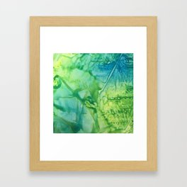 Abstract: One Road Out Framed Art Print