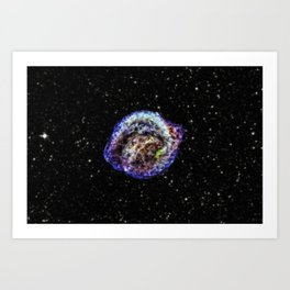 Kepler's Supernova Remnant Art Print