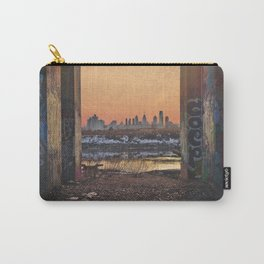 Framed Philly Skyline Carry-All Pouch