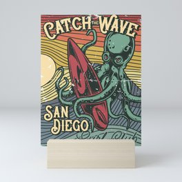 Catch the Wave Mini Art Print