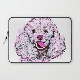 The happy Poodle Love of My Life Laptop Sleeve