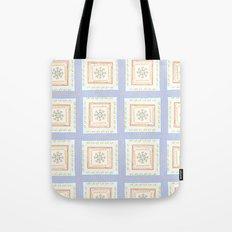 Vintage Handkerchief Pattern Tote Bag