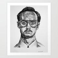 Art Print featuring Kip by Tiendank