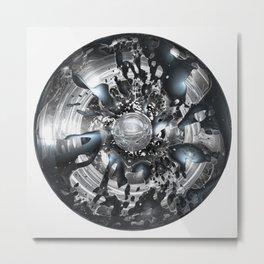 Dysilica Metal Print