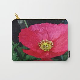 Poppies Three Carry-All Pouch