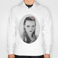 gemma correll Hoodies featuring Gemma Ward Mermaid (Pencil Art) Tamara by Aeriz85