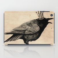 raven iPad Cases featuring Raven by Anna Shell
